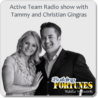 Active Team Radio show with Tammy and Christian Gingras